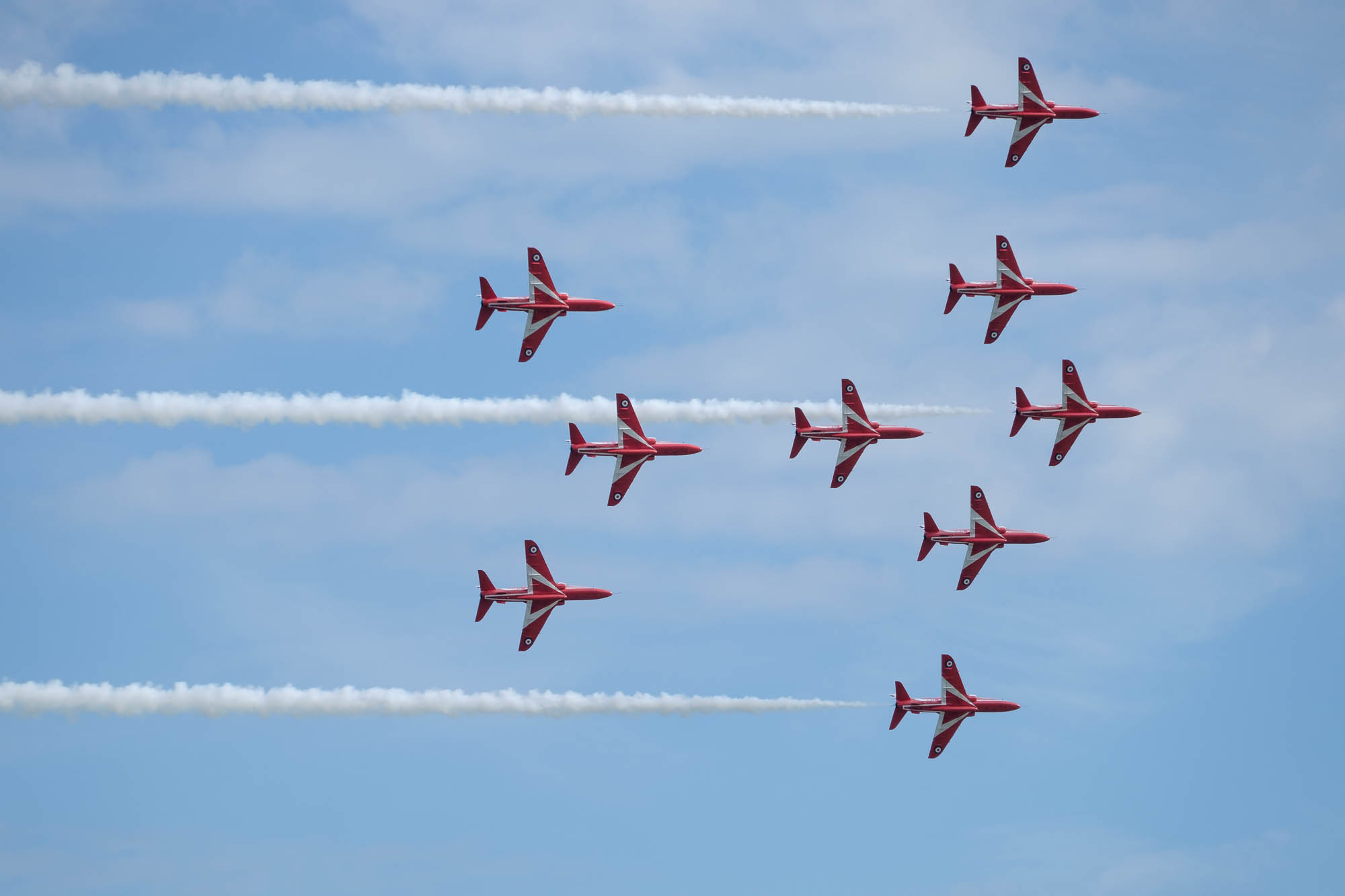 Eastbourne Arishow - Red Arrows